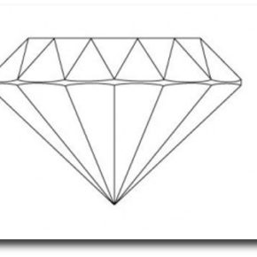 Diamond Line Drawing