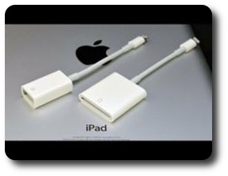 iPad USB camera connection kit