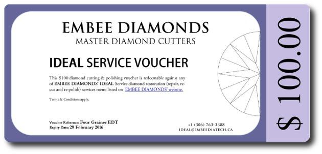 Embee Diamonds Technologies Ideal Service Voucher